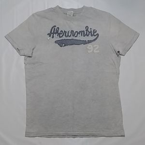 Abercrombie & Fitch S/L Embroidered Tee